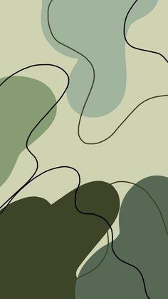 Sage green iPhone wallpaper 💚