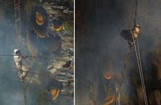 Stunning Images Of The Ancient Traditional Honey Hunters Of Nepal