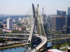 Ponte estaiada Octávio Frias de Oliveira, São Paulo, SP