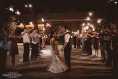 Sparkler wedding exit http://genarophotography.com