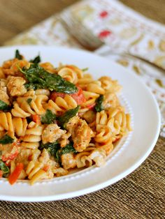 Skillet Sausage Pasta: Make this restaurant-quality dish in under 30 minutes! #easydinner