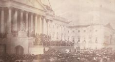 This is the First Known Photograph of a US Presidential Inauguration