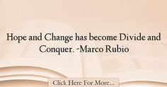 Marco Rubio Quotes About Hope - 36257