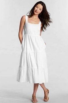 feaa2500b7 gettinfitt.com white sundresses (06)  sundresses Cotton Beach Dresses