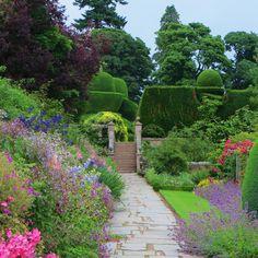 Jardins de Crathes Castle (XXe siècle), Banchory, Scotland