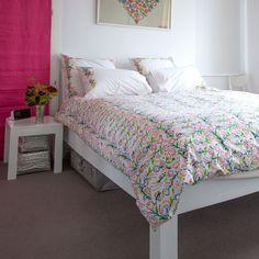 Multicolour Floral Double Duvet Cover