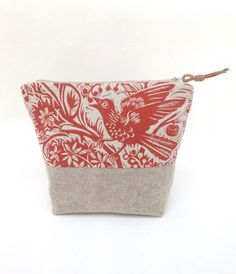 Mark Hearld Project Bag by didyoumakeityourself on Etsy
