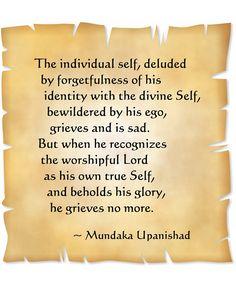 Quote from the Mundaka Upanishad Hinduism Quotes, Sanskrit Quotes, Gita Quotes, Wisdom Quotes, Bible Quotes, Om Namah Shivaya, Favorite Quotes, Best Quotes, Spiritual Awakening Quotes