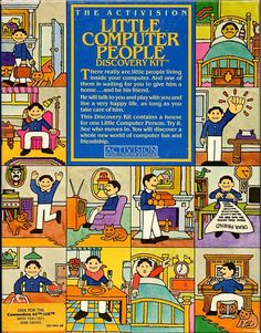 Little Computer People Commodore 64 Front Cover
