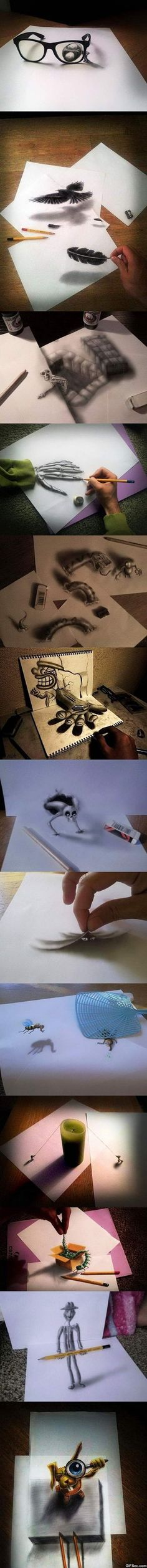 Awesome 3D Optical Illusions