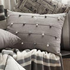 Gallery Direct Barnacle Bobble Grey Cushion