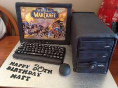 Pin World Of Warcraft Cake The Lady On Pinterest