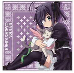 Love, Chunibyo & Other Delusions : Rikka Takanashi - Cushion Cover