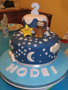 Twinkle twinkle little star - by Ainhi @ CakesDecor.com - cake decorating website