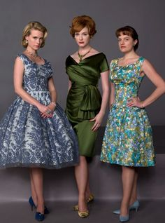 Mad Men fashion  deliglam.com