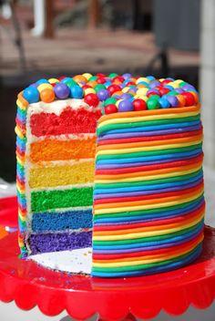 @KatieSheaDesign ♡♡♡ #Cake colorful cake