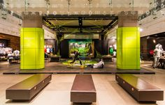 NIKE Retail Interior | Magista, 2014 | Create Attack | Niketown London | by Millington Associates