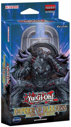Yugioh Emperor of Darkness EOD English Structure Deck - 42 Cards! English Structure, Yugioh Decks, Elemental Powers, Ready To Play, Deck Of Cards, Kids Cards, Emperor, 6 Years, Trading Cards