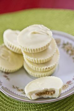 This white chocolate copycat Reeses recipe looks good.