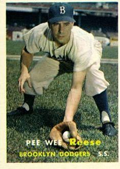 30 - Pee Wee Reese - Brooklyn Dodgers
