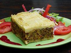 Pastel de papas de lentejas y arroz   ¡Recetas Veganas!