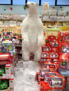 Allestimento Natale - Punto Vendita #IoBimboSardegna #Olbia #Natale #2012 #Orsi #Neve #AlberoNatale