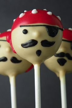 Pirate Cake Pops | Flickr - Photo Sharing!