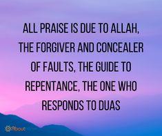 All praise belongs to Allah!