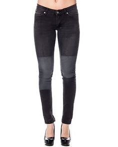Printed Patch Slim Black