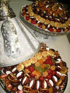fruit sec décor marocain