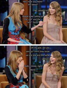 """I love Taylor and I will always love her ♡ so haters I don't want to hear again """"taylor has changed so much"""" or """"I liked old taylor but now not any more"""" She's the same person! She is and she will always be my idol and my queen ^. Taylor Swift Funny, All About Taylor Swift, Long Live Taylor Swift, Taylor Swift Quotes, Taylor Swift Pictures, Taylor Alison Swift, Taylor Swift Facts, Bae, Swift 3"""