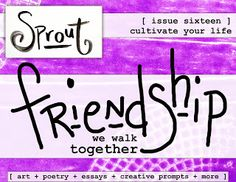 Sprout e-magazine poetry art essay creative prompts and more, inspiration emag