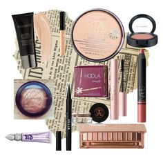 """My 2015 makeup routine"" by forever-moe ❤ liked on Polyvore featuring Laura Mercier, Rimmel, Benefit, MAC Cosmetics, Urban Decay, Stila, NARS Cosmetics and Anastasia Beverly Hills"
