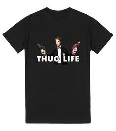 Thug Life Bill Nye | T-Shirt | SKREENED | Thug Life Bill Nye style. The most badass scientist is here to stay spreading the good word. Science is not a game. And Bill Nye does not mess around.