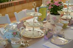 Mint Tea Party ideas...