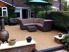resin gravel patio - Google Search