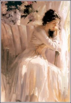 *The White Chair* ~ by Richard Johnson