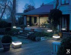 contemporary garden-lighting-ideas - All About Bollard Lighting, Patio Lighting, Landscape Lighting, Lighting Ideas, Lighting Solutions, Modern Lighting, Home Lighting Design, Outdoor Garden Lighting, Minimalist Garden