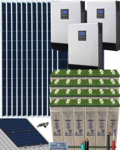 Kits Solares Vivienda Permanente | Comprar Kits Solares Vivienda Permanente al Mejor Precio Kit Solar, Shopping, Water Bombs, Solar Panels, Solar Energy, Get Well Soon