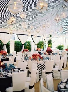 White Wedding & Events: Nautical Wedding Style