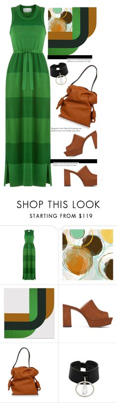 """""""Stunning in vivid shades of Grass Green'"""" by dianefantasy ❤ liked on Polyvore featuring Sonia Rykiel, Vince Camuto, Loewe, Absidem, polyvorecommunity and polyvoreeditorial"""