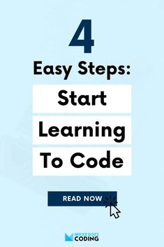 So you want to start learning programming and web development? Find out how to get started the RIGHT way to achieve your coding and career goals as fast as possible. Learn how to choose your first programming language and browse through the best online courses, tools, books, and other resources to get started today. If you're 100% new to coding, front end development, or backend development, this post is for you! #mikkegoes Learn Computer Science, Computer Coding, Learn Programming, Programming Languages, Learn Coding Online, Coding For Beginners, Best Online Courses, Learn To Code, Career Goals