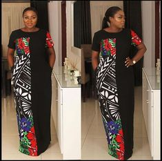 Look at this Gorgeous modern african fashion African Maxi Dresses, African Fashion Ankara, Latest African Fashion Dresses, African Fashion Designers, Ankara Dress, African Print Fashion, African Attire, African Wear, Ankara Gown Styles