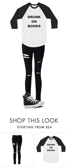 """""""Untitled #104"""" by maya-03-b on Polyvore featuring Miss Selfridge and Converse"""