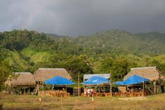 Basecamp at Kalu Yala, Panama, home to TEDx Adventure: The Jungle NYE 2014
