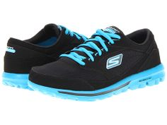 SKECHERS Performance Gowalk - Baby Charcoal/Blue - Zappos.com Free Shipping BOTH Ways