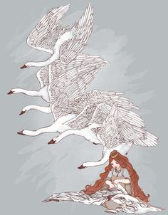Swan Brothers by Katphilbin