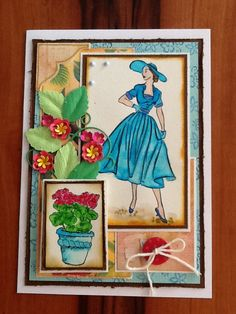 Card Stella from prickleypear