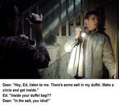 Inside your duffel bag?
