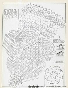 #14_CAROL Crochet Table Topper & diagram (part 2 of 2)